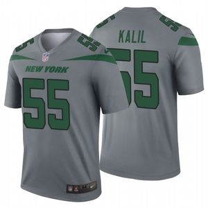 Men's Ryan Kalil #55 New York Jets Jersey
